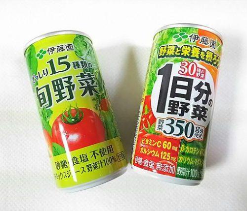 野菜ジュース対決!