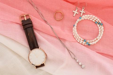 腕時計はファッションの一部