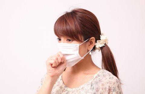 マスクと鼻呼吸で予防