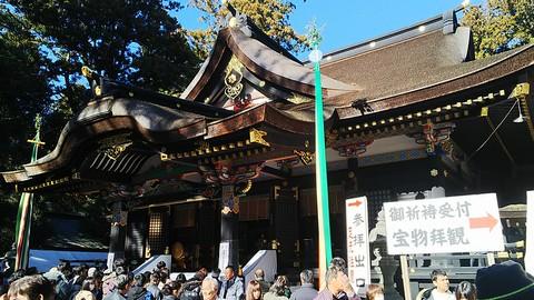香取神宮で初詣