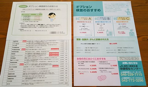 オプション検査関係書類