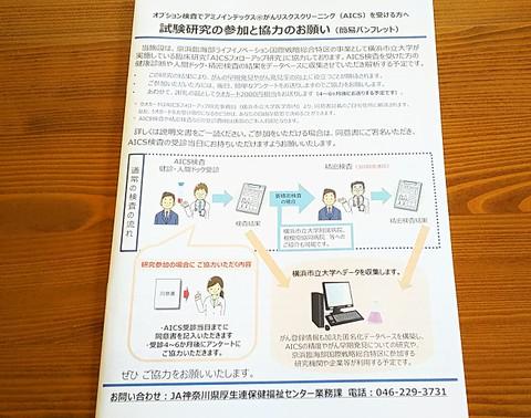AICS検査関係の別紙