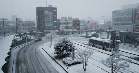 八王子駅南口の様子