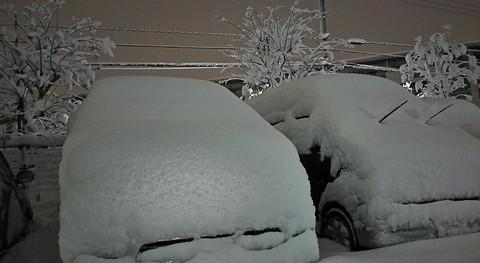 八王子は20センチ超えの大雪