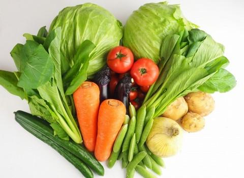 野菜不足だ!