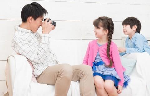 子供と写真