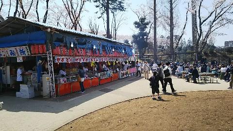 富士森公園の奥