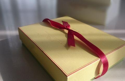 突然のプレゼント