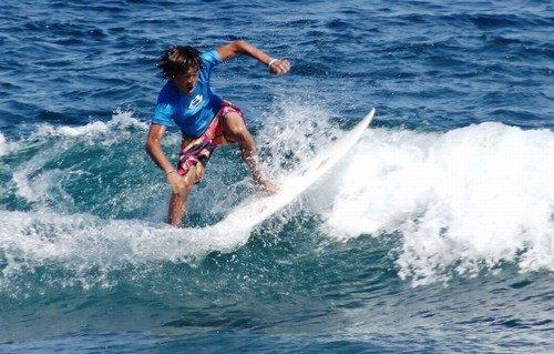 サーフィン最高!