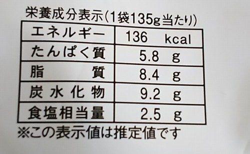 牛丼の具栄養成分