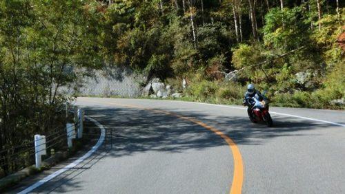 バイクでツーリング