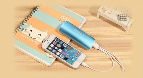 モバイルバッテリー使用例