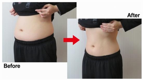 腹筋のイメージ