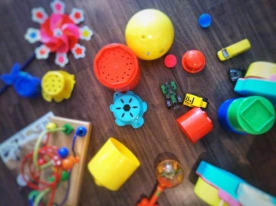 たくさんのおもちゃ