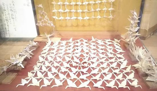 1枚からの折り鶴
