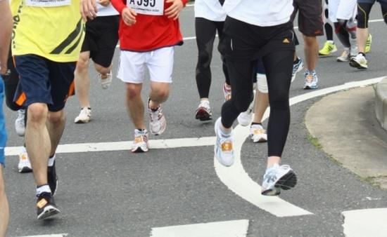 マラソン大会と筋肉痛