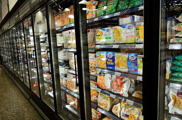 冷凍庫の仕事