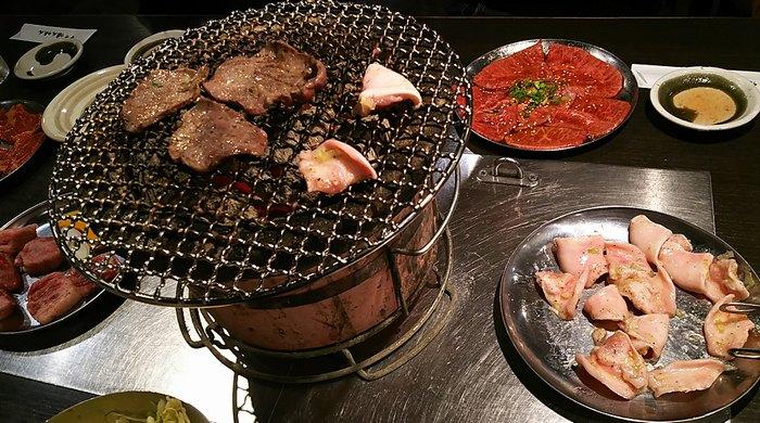 焼肉とガム
