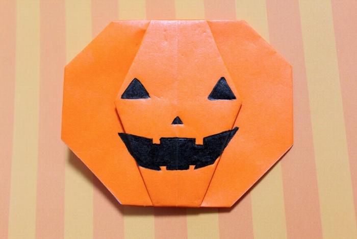 折り紙でかぼちゃを作ろう簡単な作り方