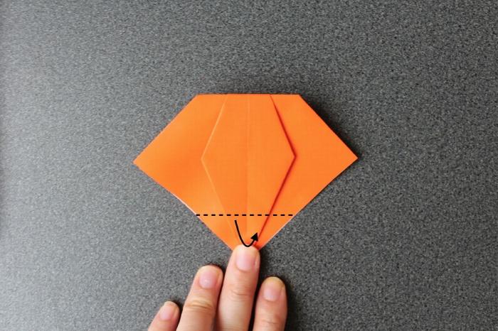 オバケかぼちゃ作り方10