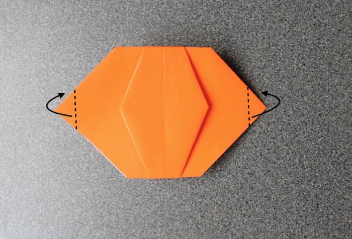 オバケかぼちゃ作り方11