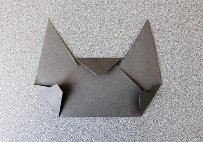 黒猫のお面作り方9-2