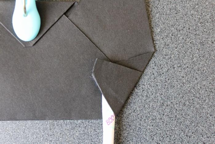 黒猫のお面手持ちタイプの作り方2