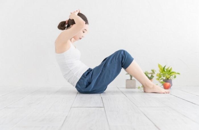 運動不足と腹筋