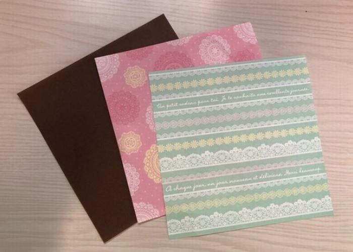 折り紙の用意