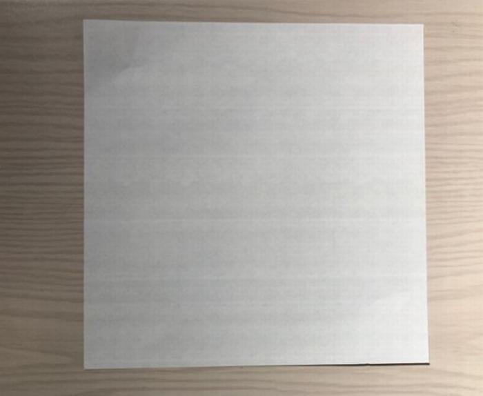 着物用のの折り紙をようい